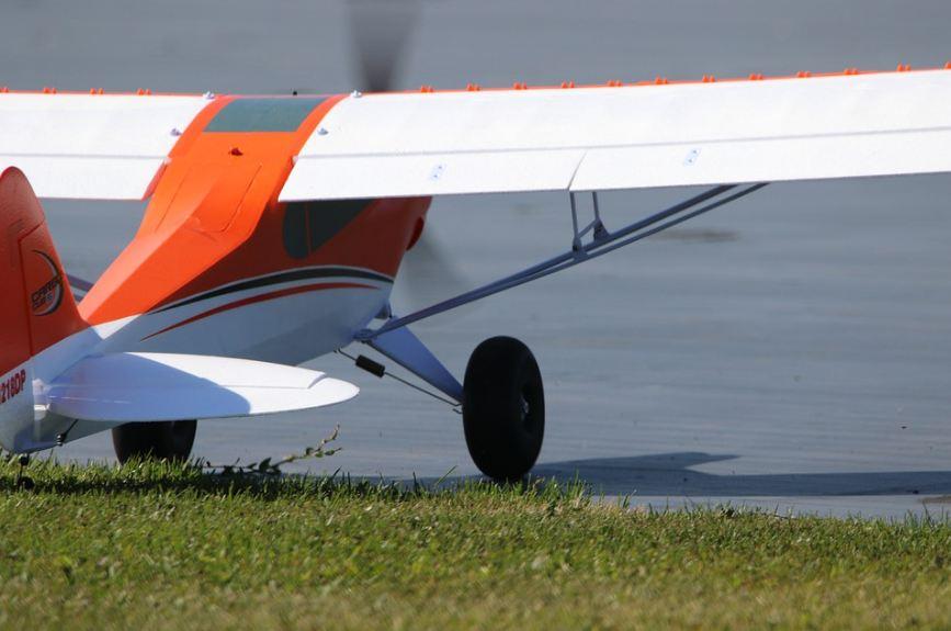 A Model RC Plane.