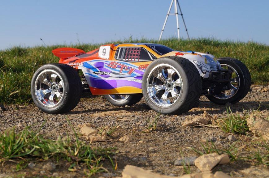 An electric RC Car