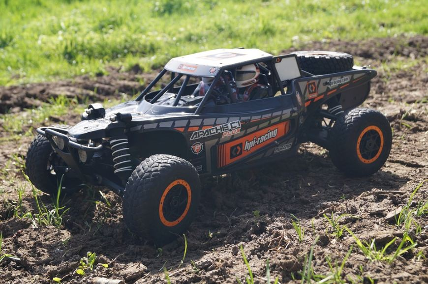 The RC Monster trucks are always a cool choice.