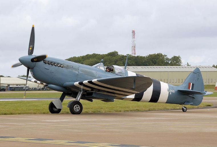 Today, many Supermarine Spitfire airplanes are in Museums